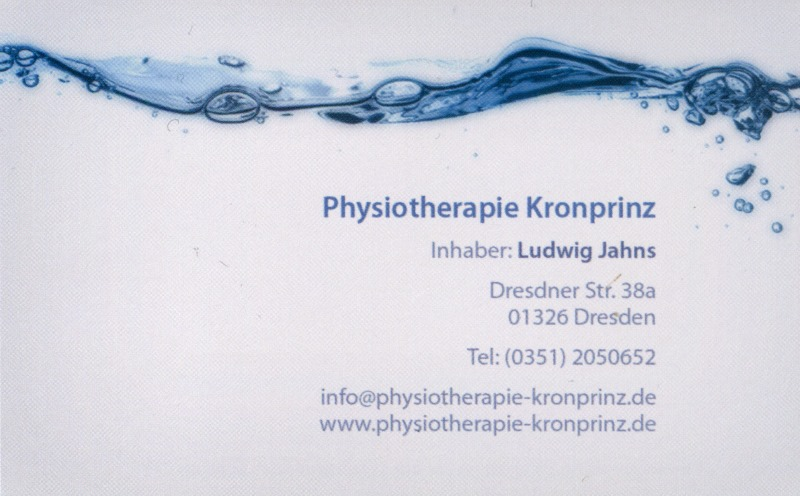 Physiotherapie Kronprinz